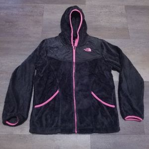 The North Face Girls Fleece Hooded Jacket XL